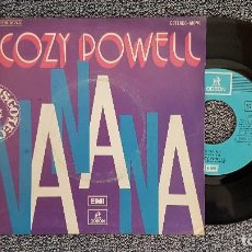 Discos de vinilo: COZY POWELL - NA NA NA / MISTRAL. AÑO 1.974. EDITADO POR EMI ODEON.. Lote 188522606