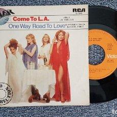 Discos de vinilo: CAVIAR - COME TO L.A. / ONE WAY ROAD TO LOVE. AÑO 1.979. EDITADO POR RCA. Lote 188523451