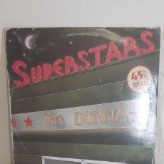Discos de vinilo: SUPERSTAR ON DONNA. HOT SUMER MIX. MAXI SINGLE. 45RPM.. Lote 188524375