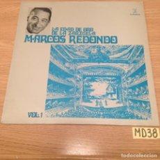 Discos de vinil: MARCOS REDONDO. Lote 188526823