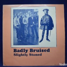 Discos de vinilo: FLINT AND WOZO / COLIN LLOYD BAND - BADLY BRUISED, SLIGHTLY STONED - LP. Lote 188537052
