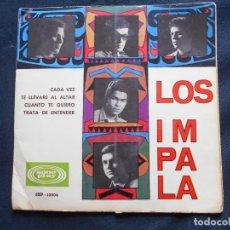 Discos de vinilo: LOS IMPALA // CADA VEZ + 3 // LA PORTADA SE ABRE. Lote 188539367