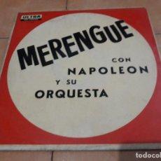 Discos de vinilo: MERENGUE CON NAPOLEON Y SU ORQUESTA- LP LA DISCOTECA CARACAS VENEZUELA. Lote 188539883
