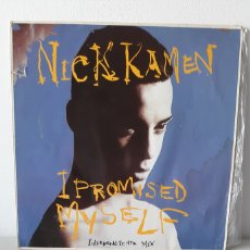 Discos de vinilo: MICK KAMEN. I PROMISED MYSELF. YOU ARE. 1990. 3 TEMAS. MAXI SINGLE. GERMANY. Lote 188524650
