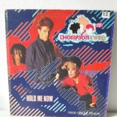 Discos de vinilo: THOMPSON TWINS. HOLD ME NOW. MAXI SINGLE. 45 RPM. SPAIN. Lote 188549711