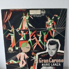 Discos de vinilo: MARIO LANZA EL GRAN CARUSO. RCA. 1960. ESPAÑA.. Lote 188553871