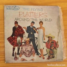Discos de vinilo: PLATTERS -EP VINILO 7''- THE FLYING AROUND THE WORLD. TWILING TIME / FOR THE FIRST TIME.... Lote 188571353