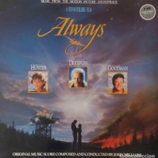 Discos de vinilo: JOHN WILLIAMS. ALWAYS. BANDA SONORA ORIGINAL LP UK. Lote 188576496