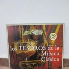 Discos de vinilo: LOS TESOROS DE LA MÚSICA CLÁSICA. 10 DISCOS. DISCOTECA RCA DE SELECCIONES.. Lote 188580120