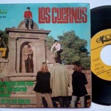 Disques de vinyle: LOS CUERNOS - ES MEJOR DEJARLO COMO ESTA - EP 1967 - EKIPO. Lote 188582440