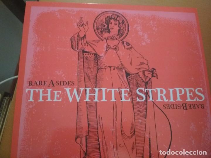THE WHITE STRIPES RARE A SIDES RARE B SIDES LP (Música - Discos - LP Vinilo - Punk - Hard Core)