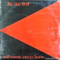 Discos de vinilo: LP. NEIL YOUNG. REACTOR.. Lote 188589528