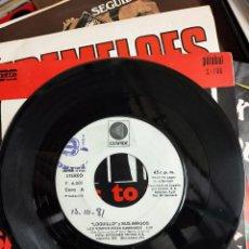 Discos de vinilo: LOQUILLO Y SUS AMIGOS - LOS TIEMPOS ESTAN CAMBIANDO PROMOCIONAL CÚSPIDE - 1981. BUEN ESTADO. Lote 188593547