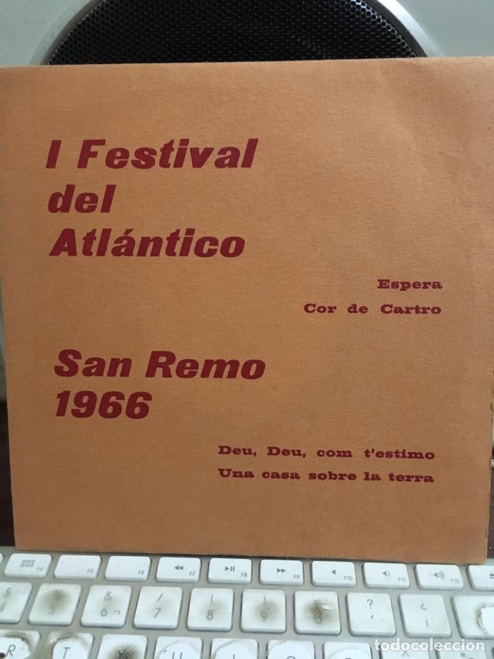 DE RAYMOND-ESPERA+3-1966-SAN REMO 1966-CARPETA PROMOCIONAL-NUEVO!!!-MUY MUY RARO (Música - Discos de Vinilo - EPs - Solistas Españoles de los 50 y 60)