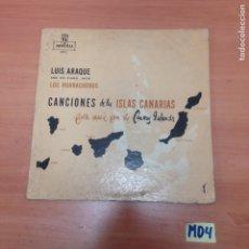 Discos de vinil: LUIS ARAQUE. Lote 188597523