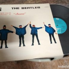 Discos de vinilo: THE BEATLES / HELP SOCORRO / LP 33 RPM / EMI ODEON SPAIN . Lote 188602932