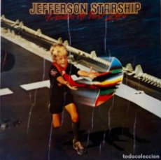 Discos de vinilo: JEFFERSON STARSHIP. FREEDOM AT POINT ZERO. LP ESPAÑA PORTADA ABIERTA + ENCARTE CON LETRAS. Lote 188621758