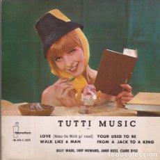 Discos de vinilo: EP TUTTI MUSIC IBEROFON 1205 SPAIN 1963 VARIOS ARTISTAS FOUR SEASONS COVER. Lote 188623755