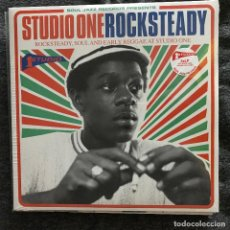Discos de vinilo: VV.AA. - STUDIO ONE ROCKSTEADY - LP DOBLE SOUL JAZZ 2014 NUEVO. Lote 188634975