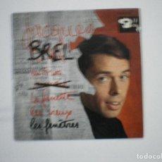 Discos de vinilo: JACQUES BREL. Lote 188638442