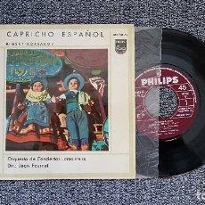 Discos de vinilo: CAPRICHO ESPAÑOL (RIMSKY KORSAKOV) DIRECTOR: JEAN FOURNET. AÑO 1.958. Lote 188638618