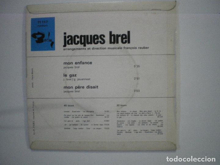 Discos de vinilo: JACQUES BREL I - Foto 2 - 188639018