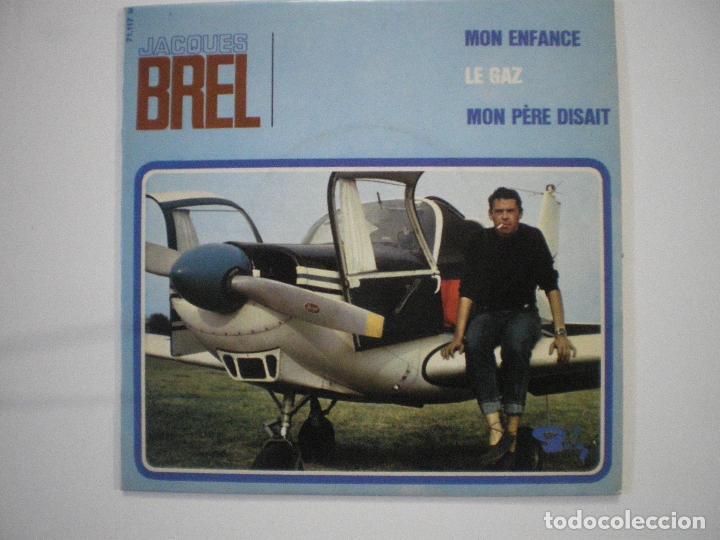 JACQUES BREL I (Música - Discos de Vinilo - Maxi Singles - Cantautores Extranjeros)