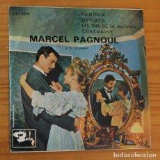 Discos de vinilo: MARCEL PAGNOUL ORQUESTA -EP VINILO 7''- RAMONA / ALWAYS / LAS TRES DE LA MAÑANA / CHARMAINE. Lote 188673578
