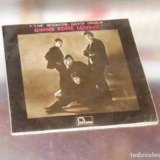 Discos de vinilo: THE SPENCER DAVIS GROUP ---E.P. --GIMME SOME LOVING-- AÑO 1966--- ( VINILO VG +++ FUNDA ++. Lote 144275650