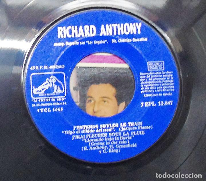 Discos de vinilo: RICHARD ANTHONY ---J´ENTENDS SIFFLER LE TRAIN AÑO 1962 ----- ( NUEVO ) ***COL *** - Foto 4 - 178156077