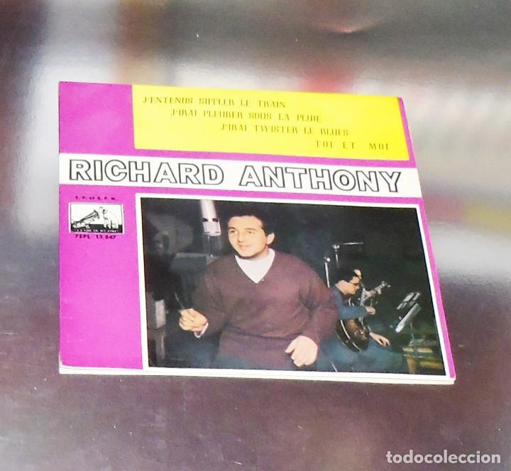 RICHARD ANTHONY ---J´ENTENDS SIFFLER LE TRAIN AÑO 1962 ----- ( NUEVO ) ***COL *** (Música - Discos de Vinilo - EPs - Pop - Rock Extranjero de los 50 y 60)