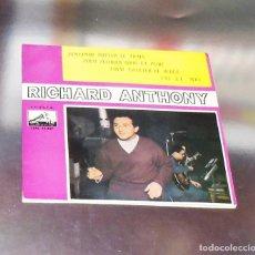 Discos de vinilo: RICHARD ANTHONY ---J´ENTENDS SIFFLER LE TRAIN AÑO 1962 ----- ( NUEVO ) ***COL ***. Lote 178156077