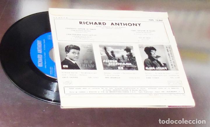 Discos de vinilo: RICHARD ANTHONY ---J´ENTENDS SIFFLER LE TRAIN AÑO 1962 ----- ( NUEVO ) ***COL *** - Foto 2 - 178156077