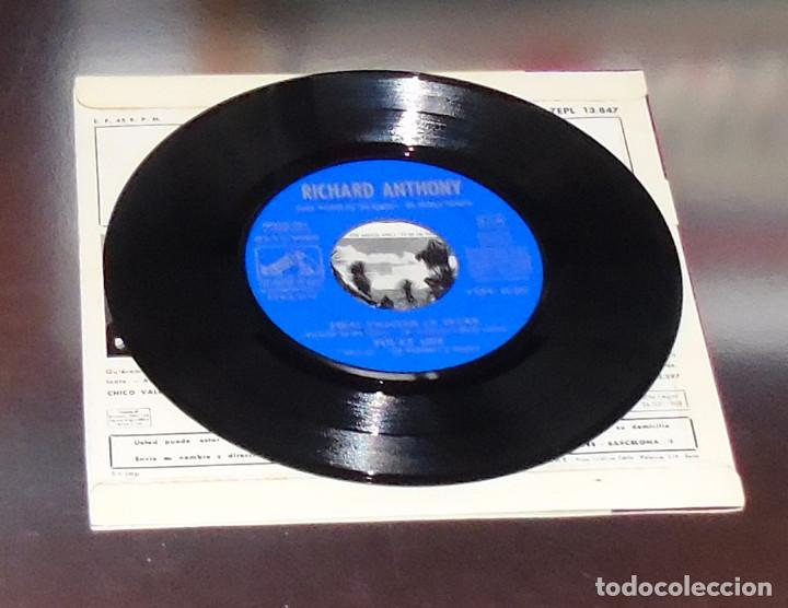 Discos de vinilo: RICHARD ANTHONY ---J´ENTENDS SIFFLER LE TRAIN AÑO 1962 ----- ( NUEVO ) ***COL *** - Foto 3 - 178156077