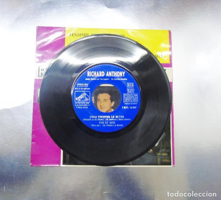 Discos de vinilo: RICHARD ANTHONY ---J´ENTENDS SIFFLER LE TRAIN AÑO 1962 ----- ( NUEVO ) ***COL *** - Foto 5 - 178156077
