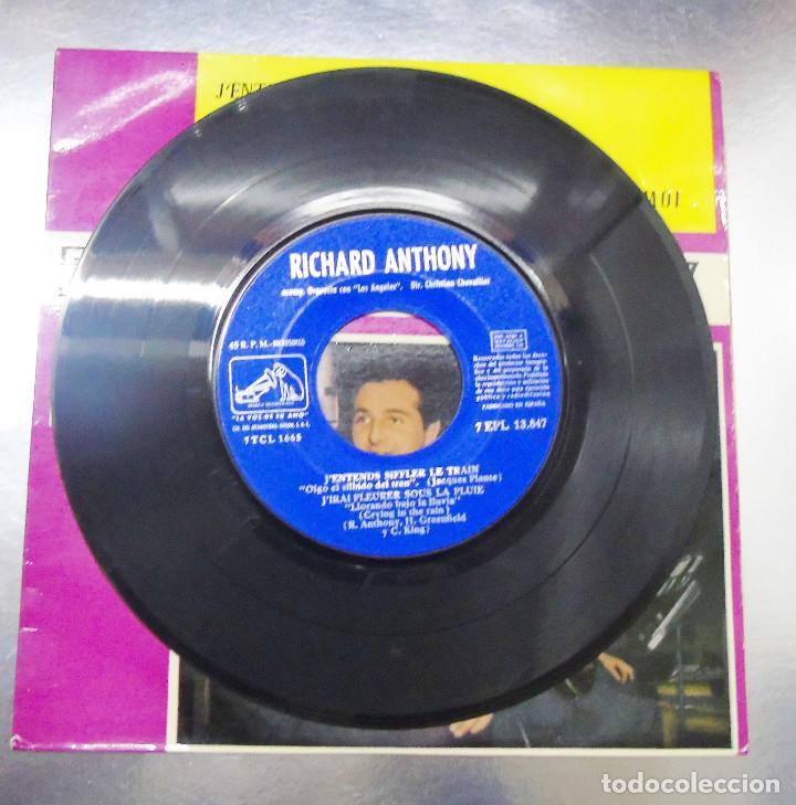 Discos de vinilo: RICHARD ANTHONY ---J´ENTENDS SIFFLER LE TRAIN AÑO 1962 ----- ( NUEVO ) ***COL *** - Foto 7 - 178156077
