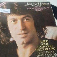 Discos de vinilo: E P ( VINILO)- PROMOCION RARO- DE ALBERT LOUIS HAMMOND AÑOS 70. Lote 188693263