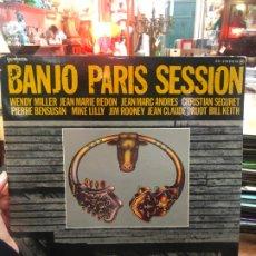 Disques de vinyle: DOBLE LP BANJO PARIS SESSION. Lote 188713677