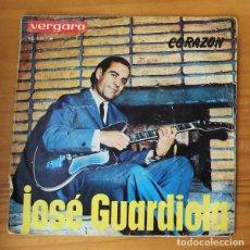 Dischi in vinile: JOSE GUARDIOLA -SINGLE VINILO 7''- CORAZON / DILE.... Lote 188715556