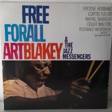Discos de vinilo: FREE FOR ALL ART BLAKEY AND THE JAZZ MESSENGERS. BLUE NOTE. ST-84170. SPAIN. 2019. PRECINTADO. NUEVO. Lote 188717772