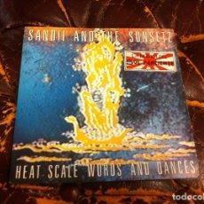 Discos de vinilo: SINGLE / EP. SANDII AND THE SUNSETZ. EL PUZZLO. HEAT SCALE-WORDS AND DANCES. 1982, ESPAÑA. Lote 188719557