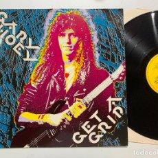 Discos de vinilo: DISCO LP VINILO GARY HOEY – GET A GRIP EDICION ALEMANA DE 1989. Lote 188722027
