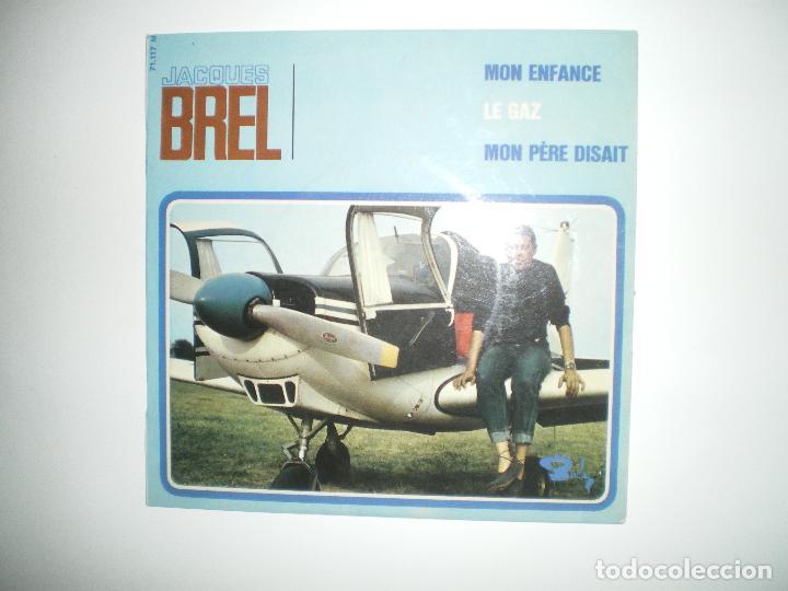 Discos de vinilo: JACQUES BREL I - Foto 3 - 188639018