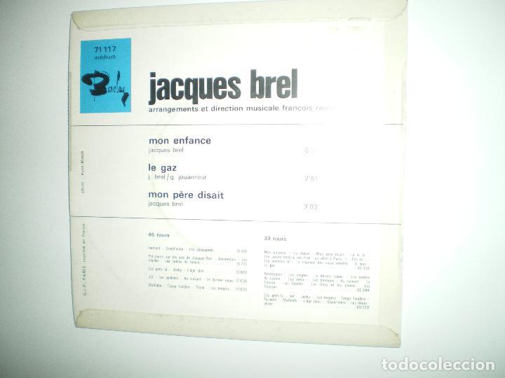 Discos de vinilo: JACQUES BREL I - Foto 4 - 188639018