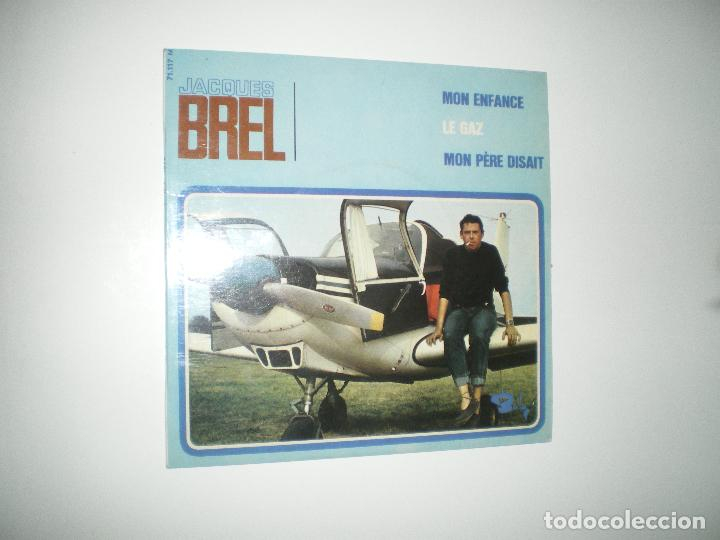 Discos de vinilo: JACQUES BREL I - Foto 5 - 188639018