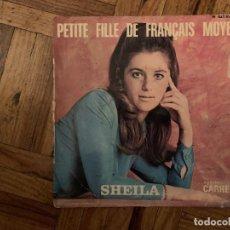 Discos de vinilo: SHEILA ?– PETITE FILLE DE FRANÇAIS MOYEN SELLO: DISQUES CARRERE ?– 437.437 BE FORMATO: VINYL, 7. Lote 188742268