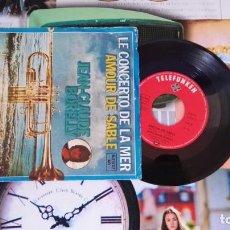 Discos de vinilo: EP SINGLE JEAN CLAUDE BORELLY - LE CONCERTO DE LA MER. Lote 188749462