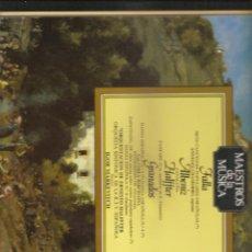 Discos de vinilo: 449. FALLA + ALBENIZ + HALFFTER + GRANADOS. Lote 188751635