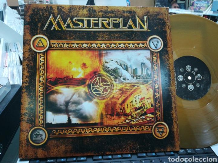 MASTERPLAN DOBLE LP EDICION LIMITADA 500 COPIAS VINILO DORADO CARPETA DOBLE 2013 (Música - Discos - LP Vinilo - Heavy - Metal)