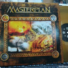 Discos de vinilo: MASTERPLAN DOBLE LP EDICION LIMITADA 500 COPIAS VINILO DORADO CARPETA DOBLE 2013. Lote 188754492